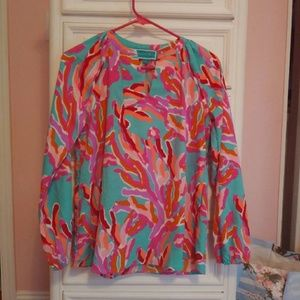 Southern Frock Lilly Pulitzer Look Alike Blouse